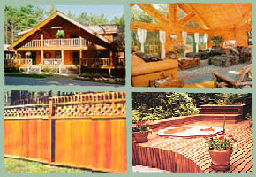 Log Home Maintenance, Log Home Repair, Log Home Stain, Log Home Restoration